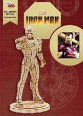 Incredibuilds: marvel's iron man collector's edition book and model