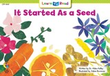 It Started as a Seed | Alden Dr Kelley |