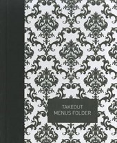 Takeout Menu Folder