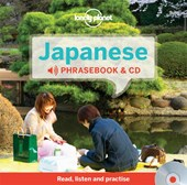 Lonely planet phrasebook : japanese  & audio (3rd ed)