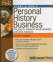 Start & Run a Personal History Business | Jennifer Campbell |