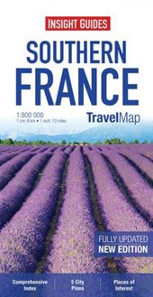 Insight Guides Travel Map Southern France