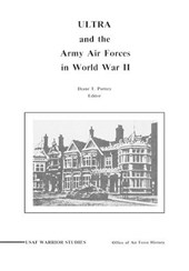 ULTRA and the Amy Air Forces in World War II