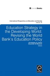 Education Strategy in the Developing World | Alexander W Wiseman |