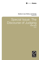 Special Issue: The Discourse Of Judging | Albert Somit |