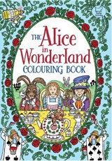 Alice in wonderland colouring book | Rachel Cloyne |