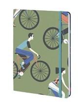 Cyclists - David Doran - Lined/Plain/dot Grid