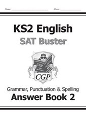KS2 English SAT Buster Book 2 Answers - Grammar, Punctuation