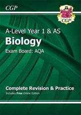 A-Level Biology: AQA Year 1 & AS Complete Revision & Practic | Cgp Books |