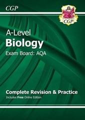 A-Level Biology: AQA Year 1 & 2 Complete Revision & Practice
