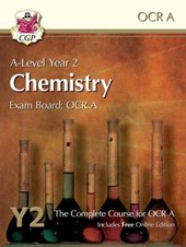 New A-Level Chemistry for OCR A: Year 2 Student Book with On