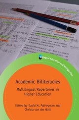Academic Biliteracies | David M. Palfreyman |