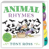 My Favourite Nursery Rhymes Board Book: Animal Rhymes | Tony Ross |