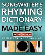 Songwriter's Rhyming Dictionary Made Easy | Jake Jackson |