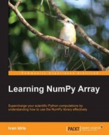 Learning Numpy Array | Ivan Idris |
