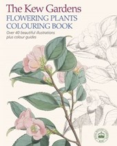 Kew Gardens Flowering Plants Colouring Book