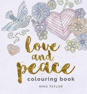 Love and Peace Colouring Book