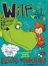 Wilf the worrier rescues the dinosaures