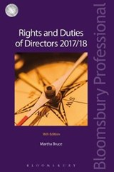 Rights and Duties of Directors 2017/18 | Martha Bruce |