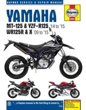 Yamaha MT 125, YZF R125 & WR125R Service and Repair Manual