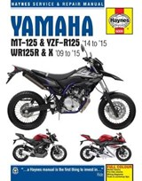 Yamaha MT 125, YZF R125 & WR125R Service and Repair Manual | Matthew Combs |