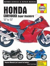 Honda CBR1100XX Super Blackbird Motorcycle Repair Manual