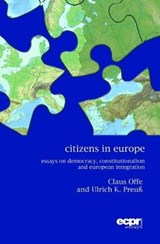 Citizens in Europe | Claus Offe |