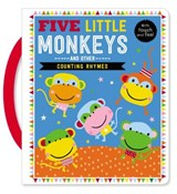Touch and Feel Five Little Monkeys and Other Counting Rhymes | Thomas Nelson |