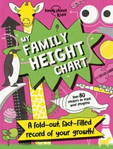 Lonely planet: family height chart | Lonely Planet Kids |