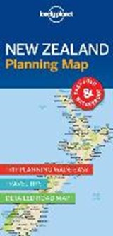 Lonely Planet New Zealand Planning Map |  |