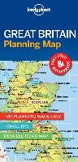 Lonely planet: planning map great britain (1st ed) | auteur onbekend |