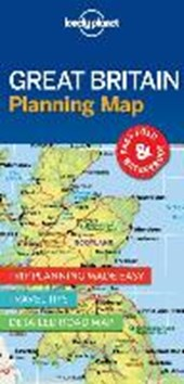 Lonely planet: planning map great britain (1st ed)