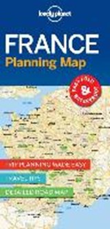 Lonely planet: planning map france (1st ed) | auteur onbekend |