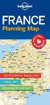 Lonely planet: planning map france (1st ed)