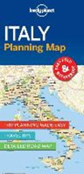 Lonely planet: planning map italy (1st ed)