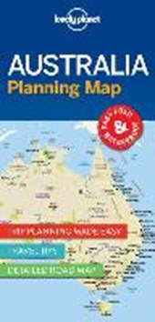 Lonely planet: planning map australia (1st ed)