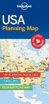 Lonely planet: planning map usa (1st ed) | auteur onbekend |