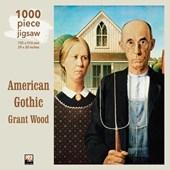 Grant Wood - American Gothic Jigsaw