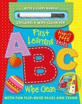First Learning ABC Wipe Clean Easel