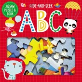 Jigsaw Puzzle and Book Hide and Seek ABC Set