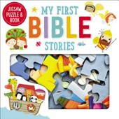 Jigsaw Puzzle and Book My First Bible Stories Set