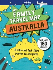 Lonely planet: my family travel map - australia (1st ed)