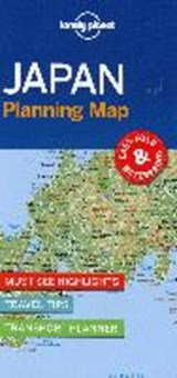 Lonely planet: japan planning map (1st ed) | auteur onbekend |
