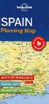 Lonely planet: spain planning map (1st ed) | auteur onbekend |