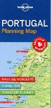 Lonely planet: portugal planning map (1st ed)