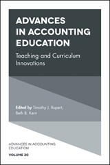 Advances in Accounting Education | auteur onbekend |