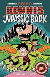 Dennis in Jurassic Bark