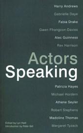 Actors Speaking