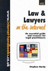 Law and Lawyers on the Internet | Stephen Hardy |
