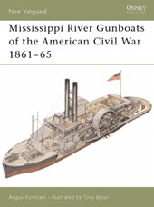 Mississippi River Gunboats of the American Civil War 1861-65 | Angus Konstam |